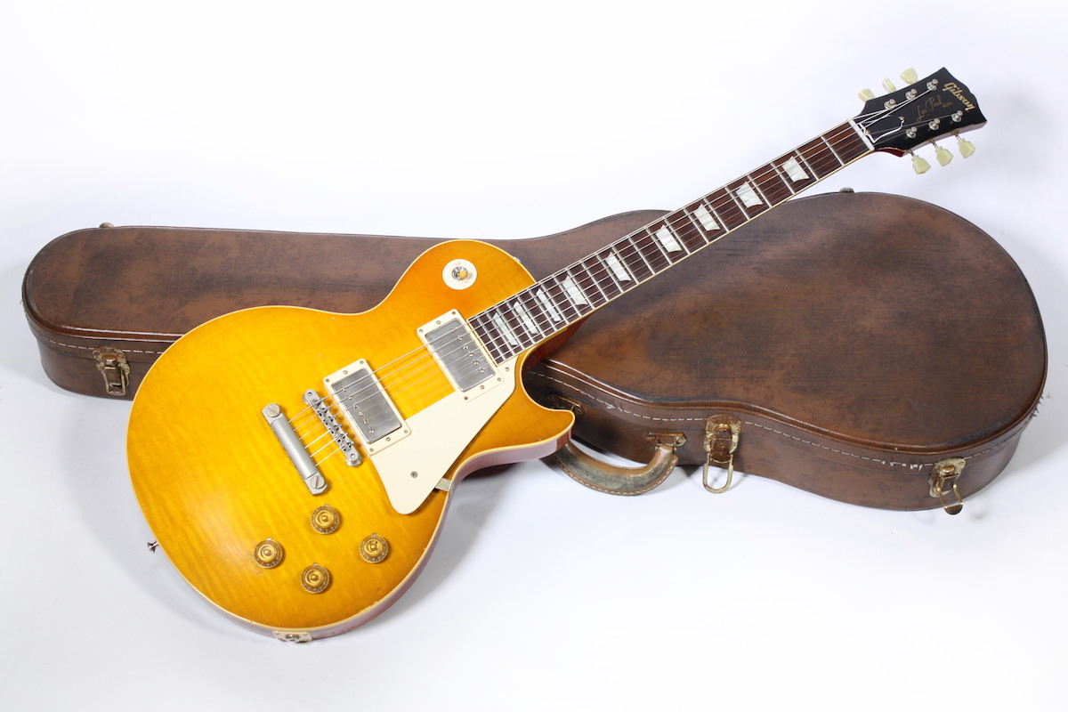 Gibson Mark Knopfler 1958 Les Paul Aged