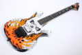 1992 ESP « flaming skull » Skull & Bones limited 2