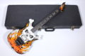 1992 ESP « flaming skull » Skull & Bones limited 12