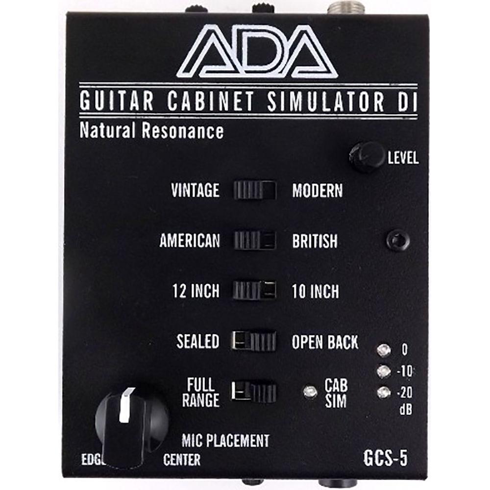 ADA GCS-5 Cabinet Simulator