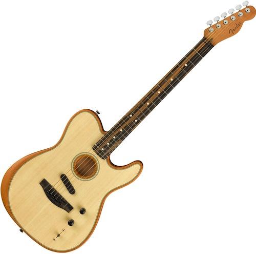 Fender American Acoustasonic Telecaster Natural