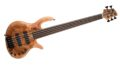Elrick Gold Series 5-String Bass, Spalted Maple Burl top 0