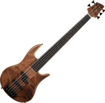 Elrick Gold Icon 5-String Bass Walnut top