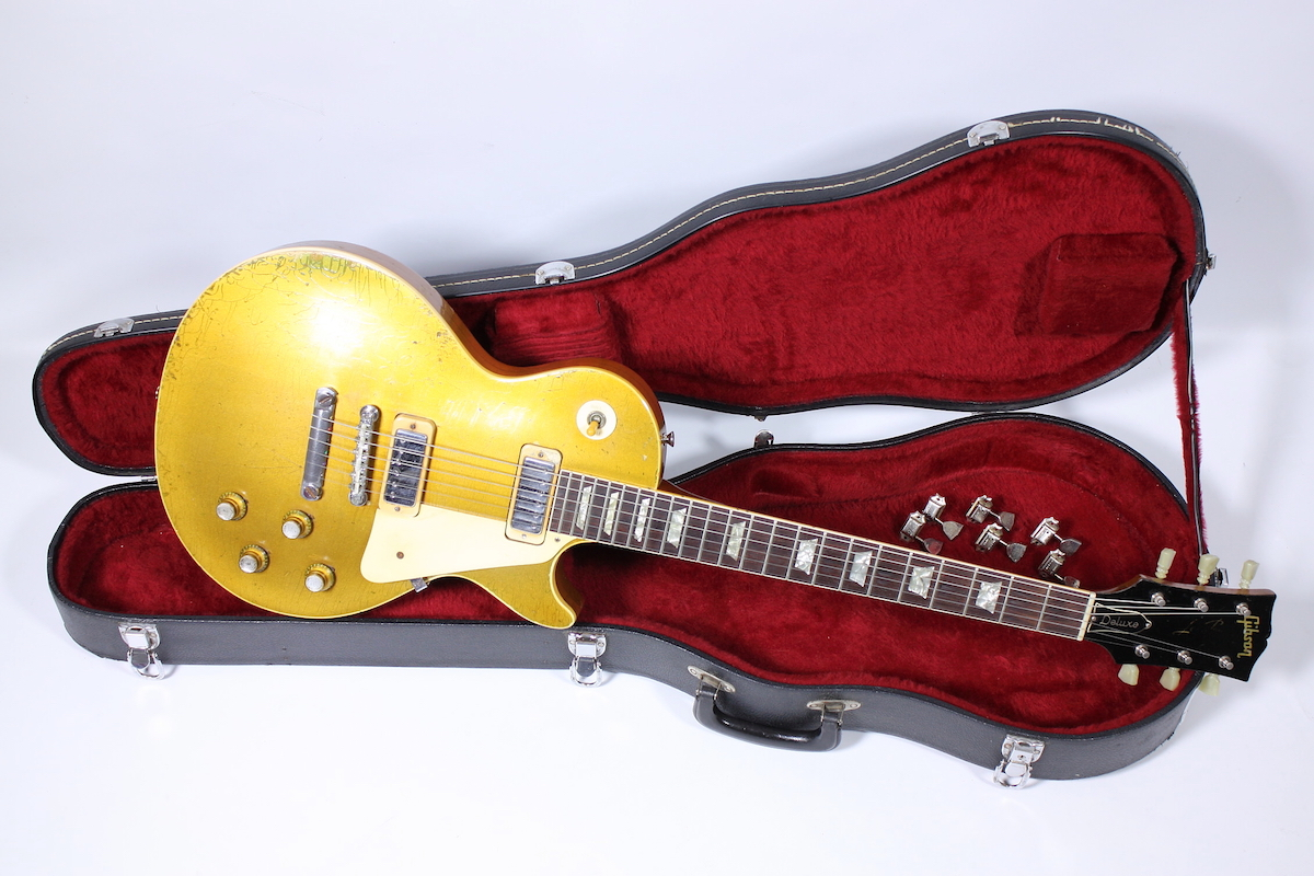 1970 Original Gibson Les Paul Deluxe Gold Top