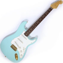 2000 Custom Shop Stratocaster Relic Surf Green