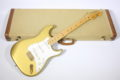 1983 Fender Stratocaster Dan Smith Aztec Gold finish 13