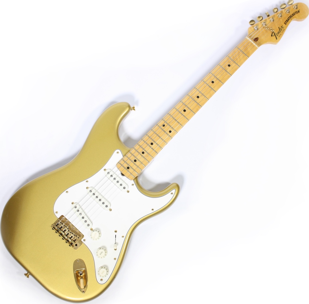 1983 Fender Stratocaster Dan Smith Aztec Gold finish