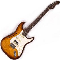 Fender Rarities Flametop Stratocaster HSS Thinline