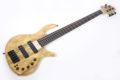 Elrick Gold e-volution Crotched myrtle burl  5 strings 1