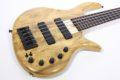Elrick Gold e-volution Crotched myrtle burl  5 strings 4