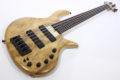 Elrick Gold e-volution Crotched myrtle burl  5 strings 5