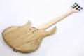 Elrick Gold e-volution Crotched myrtle burl  5 strings 10