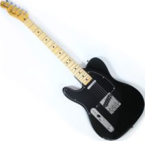 1978 Fender Telecaster lefthand black