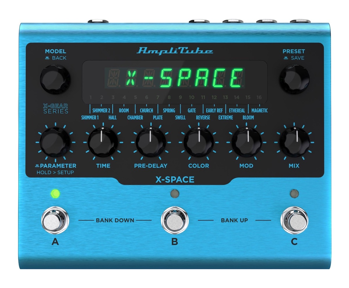 IK Multimedia X-Space X-Gear Reverb pedal