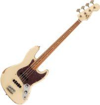 Fender 60th Anniversary Roadworn 60s Jazz Bass Olympic White