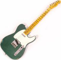 2021 Fender Limited 51 Telecaster Aged Sherwood Green