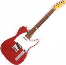 2021 Fender Custom Shop LTD 59 Telecaster Aged Dakota Red