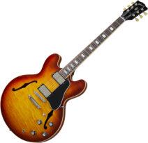2021 Gibson ES-335 Figured  Iced Tea Burst