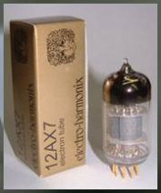 12AX7 Gold preamp tube