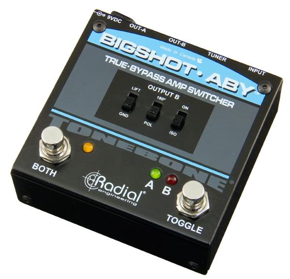 BigShot ABY True-Bypass Switcher2017 design