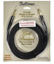 Fulltone Gold Standard 15ft cable