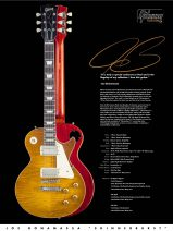 Gibson Custom Shop Joe Bonamassa Les Paul Standard Skinnerburst Aged