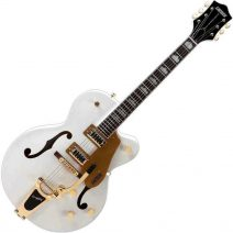 Gretsch 5420T Limited Snowcrest White finish