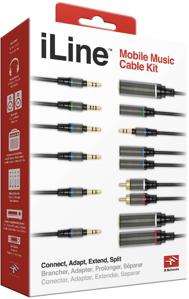 iLine Mobile Music Cables