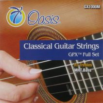Oasis GPX Nylon strings GX1000M Hard/Medium tension