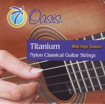 Oasis Titanium Nylon Strings