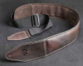 Thum Guitar & Bass Leather Strap Brown or Black 0
